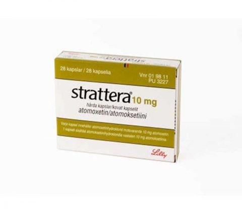 Strattera 10 mg D