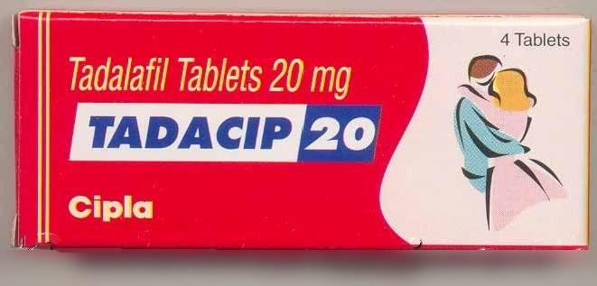 Tadacip (Cialis generico) 20 mg