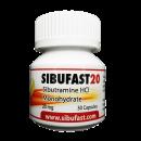Generische Reductil Sibutramine (Meridia) 20 mg SIBUFAST