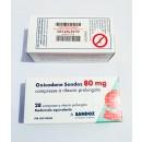 Oxycodon 80 mg by Sandoz