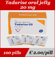 Tadarise Oral Jelly 20mg